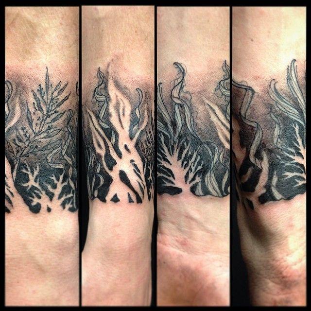 ae0fa9a26 Seaweed #tattoos #seaweed #tatau #sea #water | 2015 tattoos | Sea ...