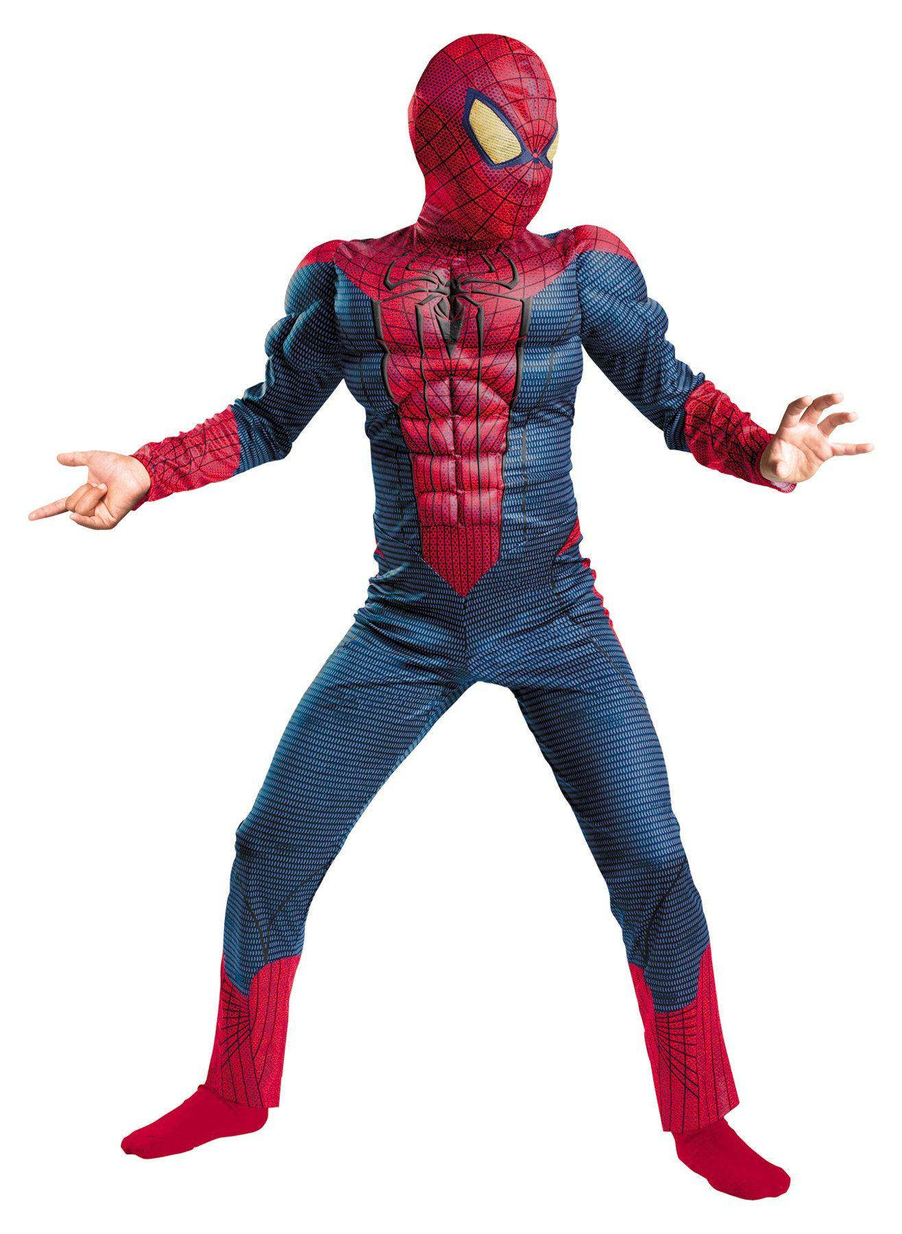 Spider-Man Movie Classic Muscle Boys Costume 7-8 | Products ...