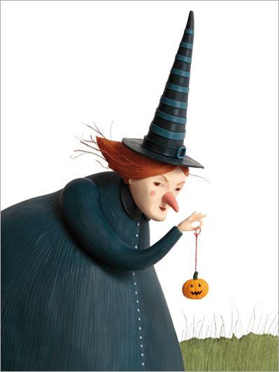 Octubre 2012 Sentada En Un Pupitre De Primaria Arte De La Bruja Brujas De Halloween Arte De Halloween