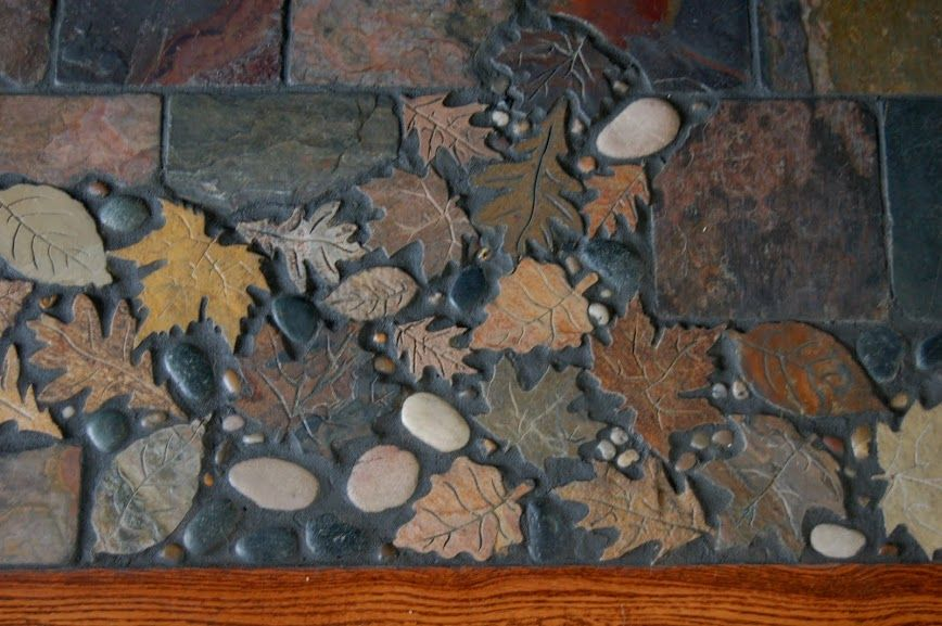 Leaves inlay