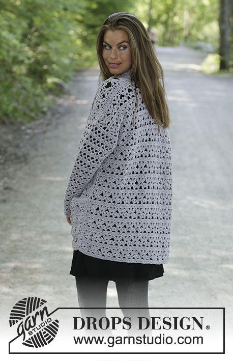 Cathy / DROPS 194-33 – Patrons de crochet gratuits par DROPS Design   – Häkeln