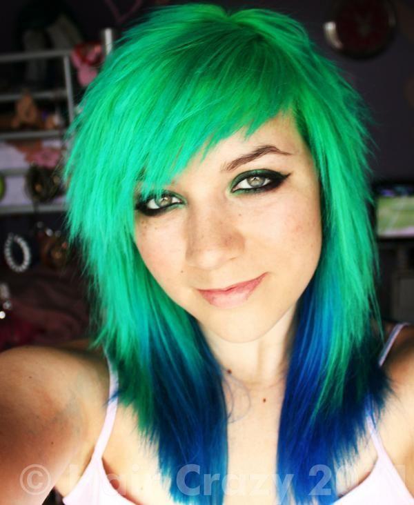 Bright Green Hair Directions Hair Dye Hair Inspiration Color