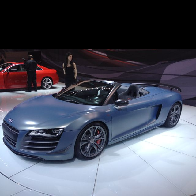 Audi R8 Drop Top Is Another Matte Beauty #nyias