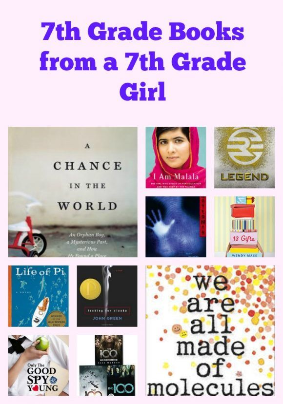 7th grade books to read