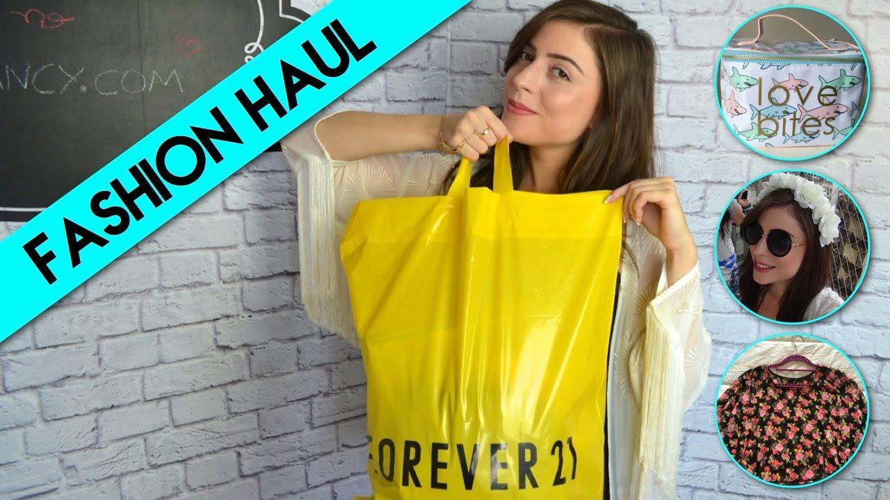 Compras na Forever 21! (Fashion Haul, Comprinhas)