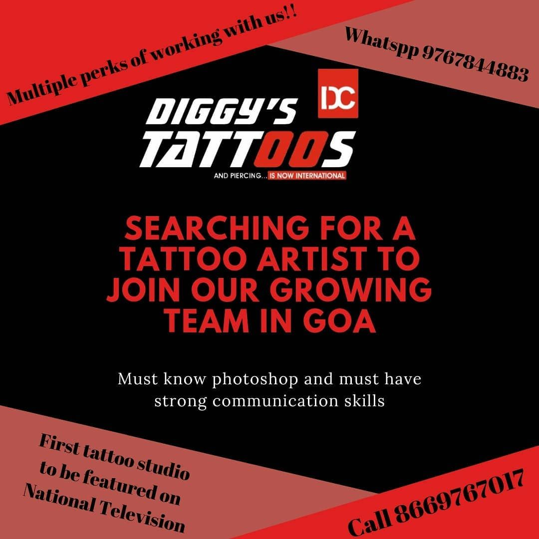 Calling all top tattoo artists .. Your chance to join our Team.. DM us for details. . . . #tattoolife #tattooartists #callingtattooartists #tattooartistsinindia #indianartists #indiantattoos #tattoosingoa #tattoostudioinindia #tattoostudioinmumbai #tattoostudioinkolkata #tattoostudioindelhi #tattoostudios #tattooed #tattooinmumbai #tattoosofinsta #tattoosofinstagram #tattoomodel #tattooguys #tattoogirls #tattoomodels #goatravel #traveltogoa #goanbeaches #beachesingoa #ganeshchaturthi2019  #ganes
