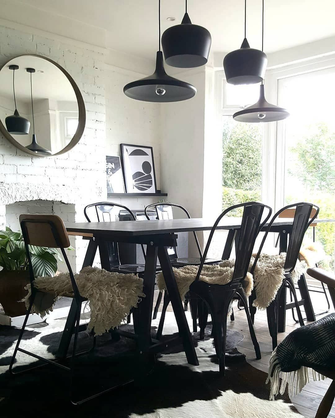 23 Industrial Dining Chairs Made Of Metal And Wood Dining Room