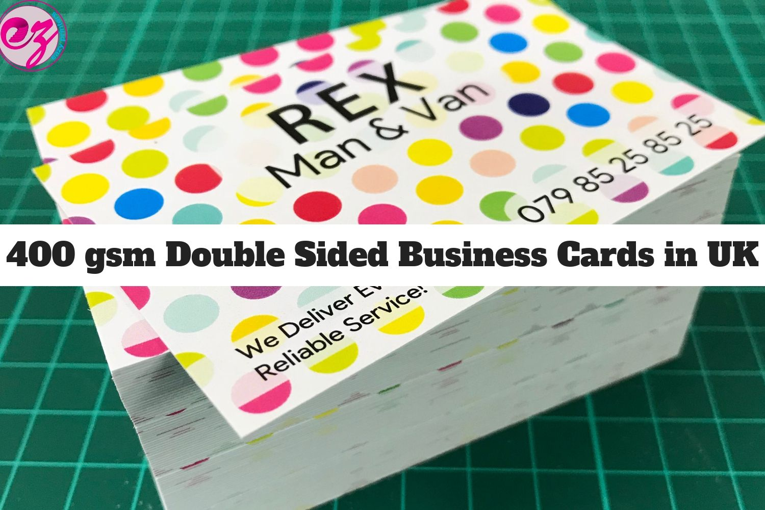 Uncoated Business Cards Printing London Ez Printers Uncoated Business Cards Printing Business Cards Double Sided Business Cards