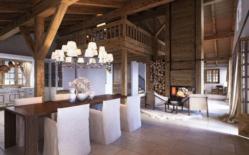 Chalet in Switzerland Sogno Pinterest Almhütte - luxus landhuser