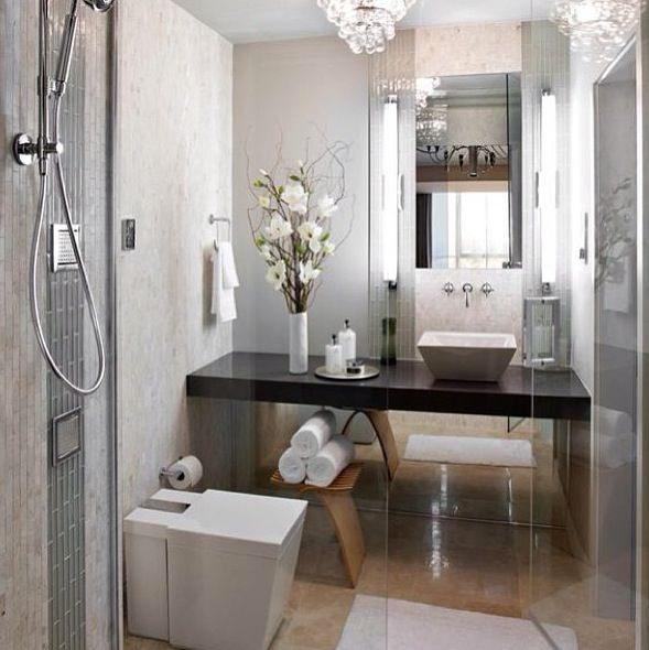 Love Wall Of Mirror, Need Storage, Would Prefer Floating Loo, Like The Feel.