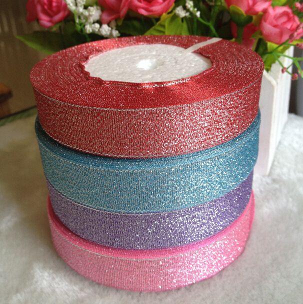 4 rolos 20 mm de largura glitter enfeite festa de natal cinto de embalagem de…