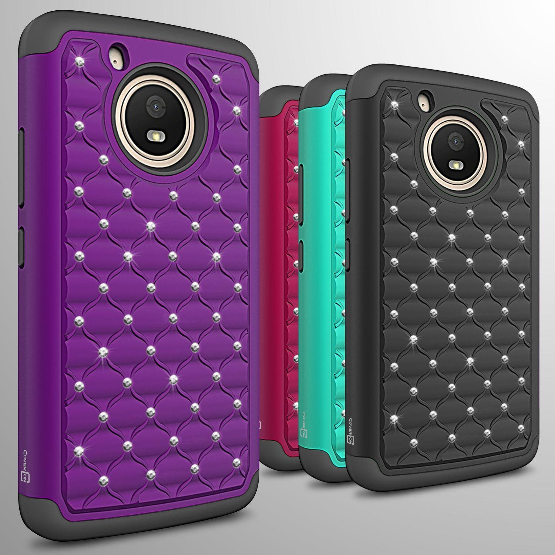promo code 5c189 1c6e4 $6.95 - For Motorola Moto E 4Th Gen (Moto E4) Case Diamond Bling ...