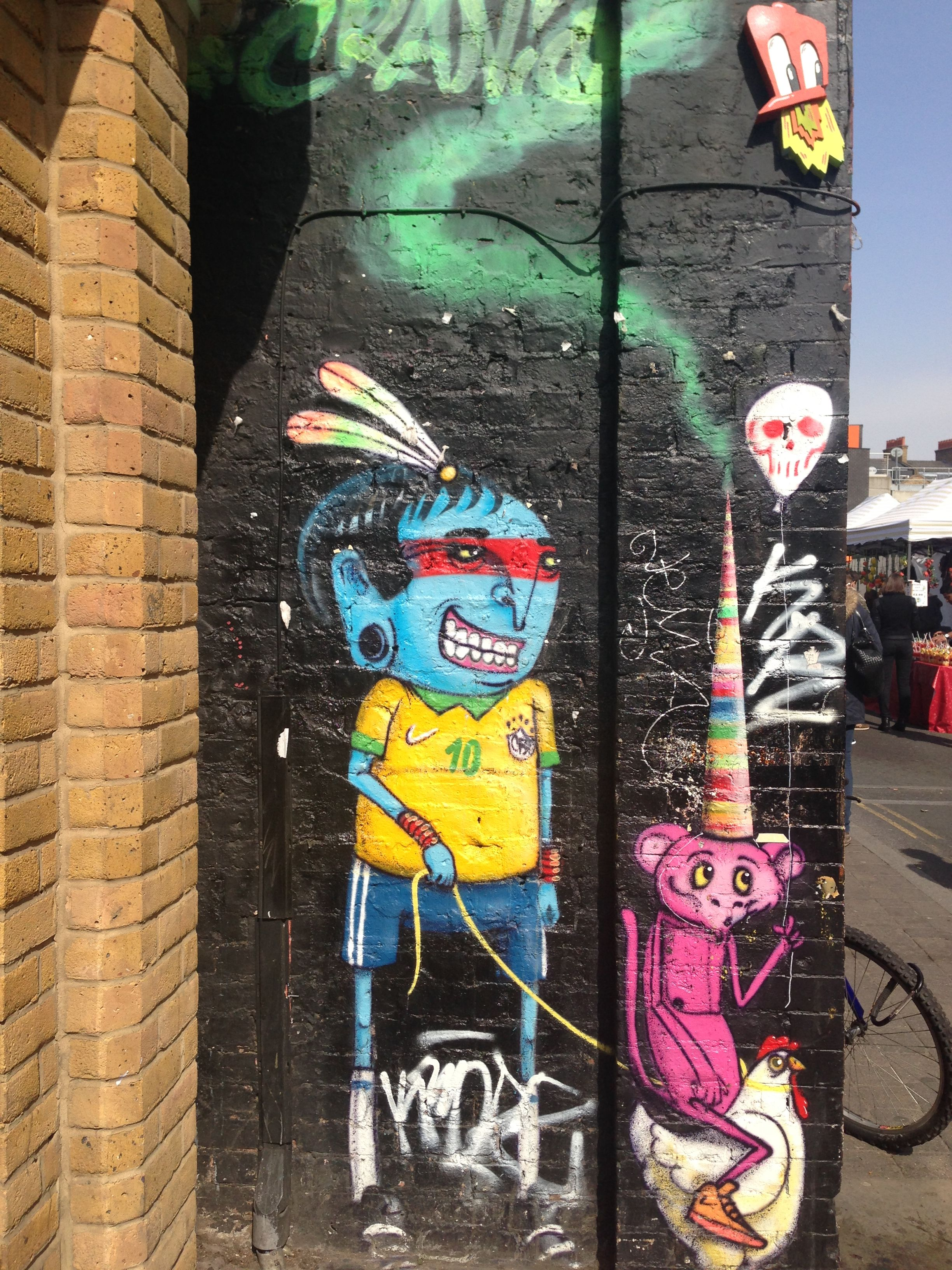 Shoreditch Graffiti: Street Art, Graffiti, Art