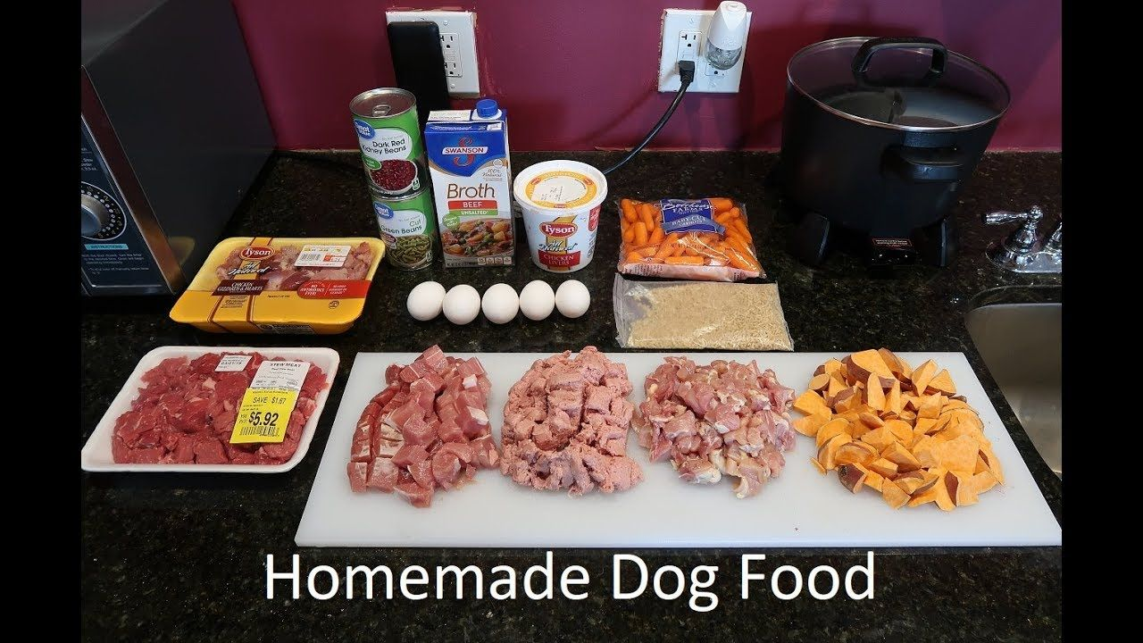 Healthy Easy Home Made Dog Food Recipe From A Past Vet Tech