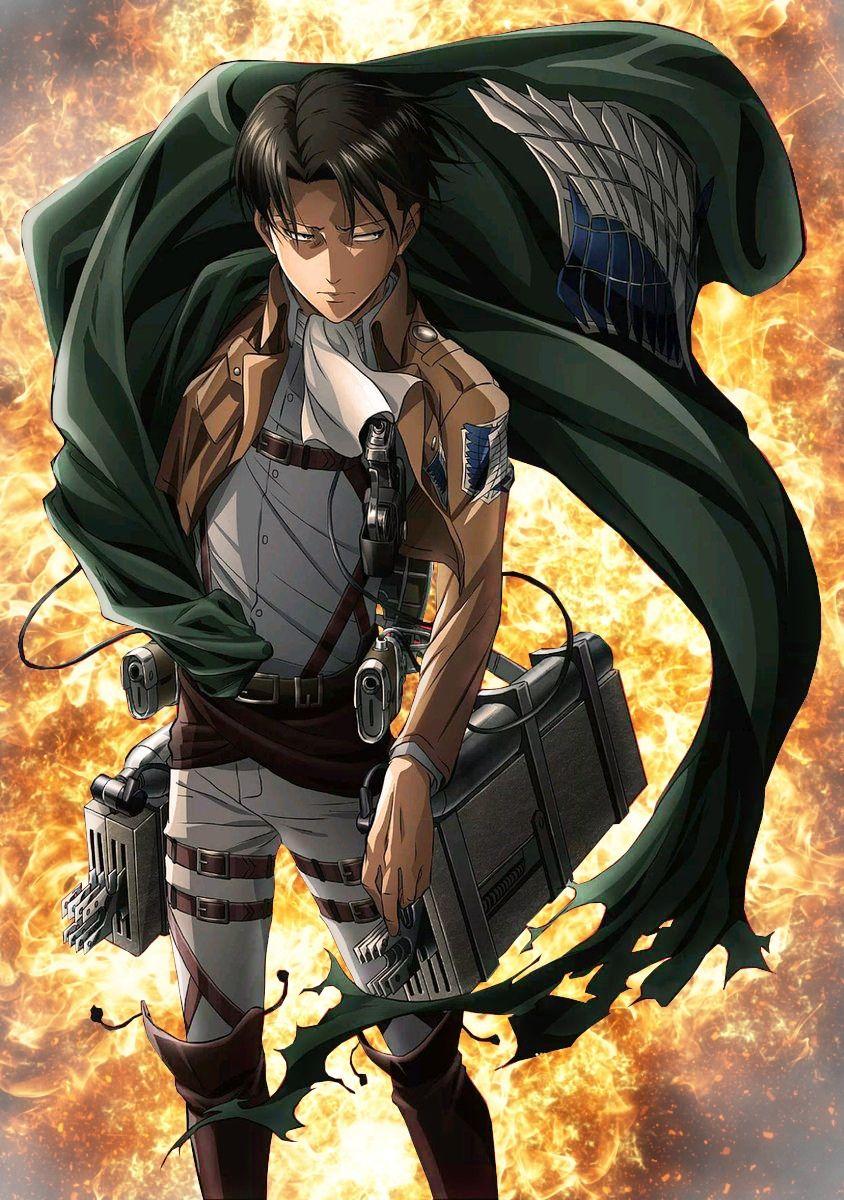 Levi Shingeki No Kyojin Attack On Titan Season Attack On Titan Art Attack On Titan
