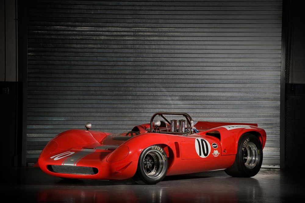 Broadley T76. A recreation of the legendary Lola T70 that you can ...