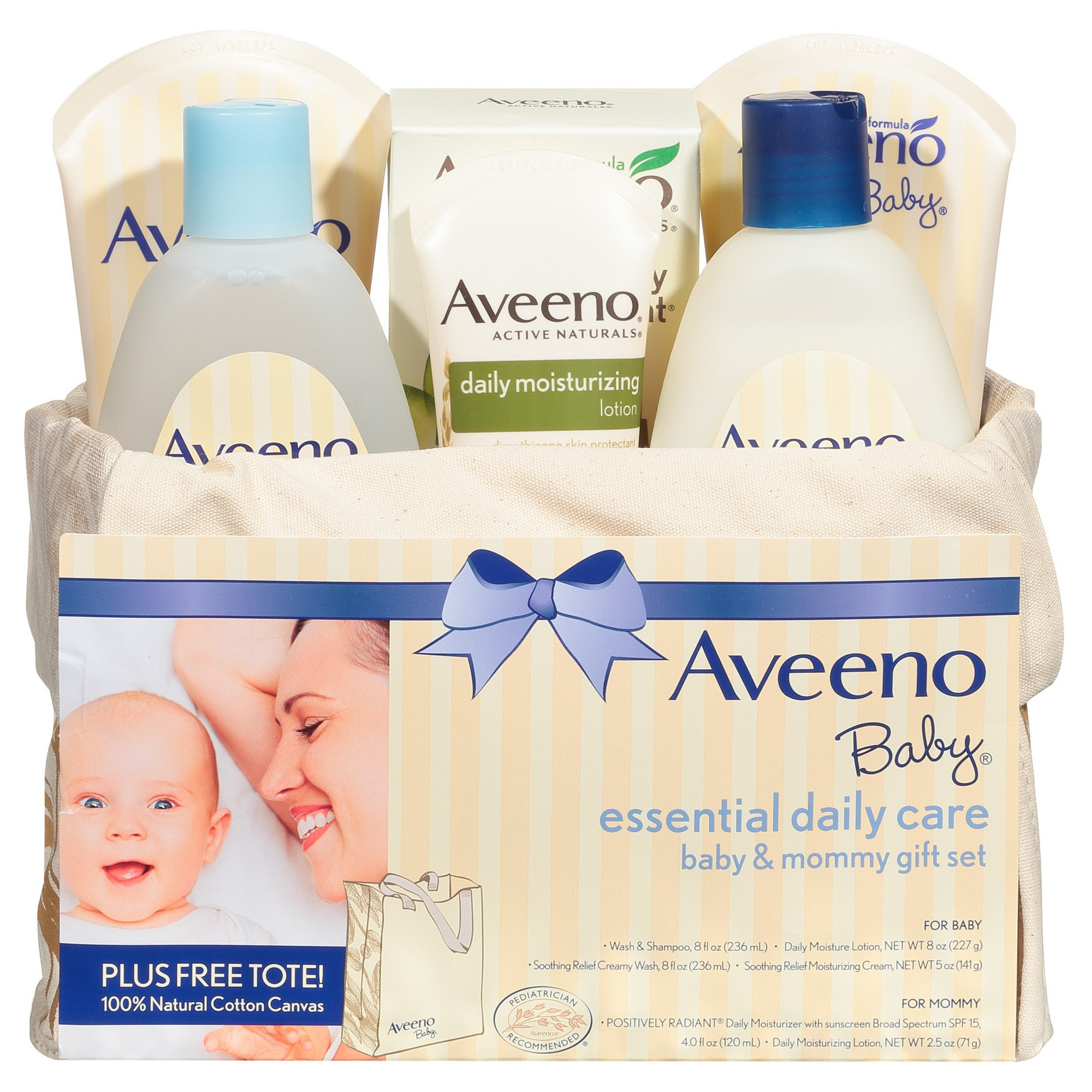Aveeno Baby Essentials Daily Care Gift Set, Adult Unisex