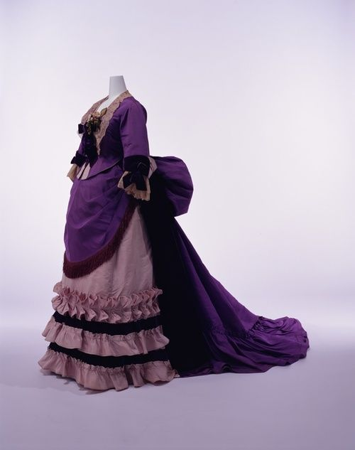 Dress by Worth || KCI || c. 1874