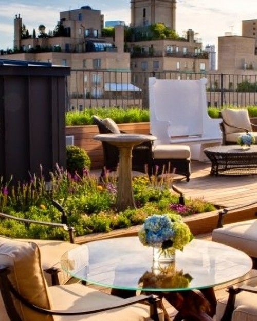Garden Terrace Hotel: The Surrey's 2,200-square-foot Private Roof Garden Has