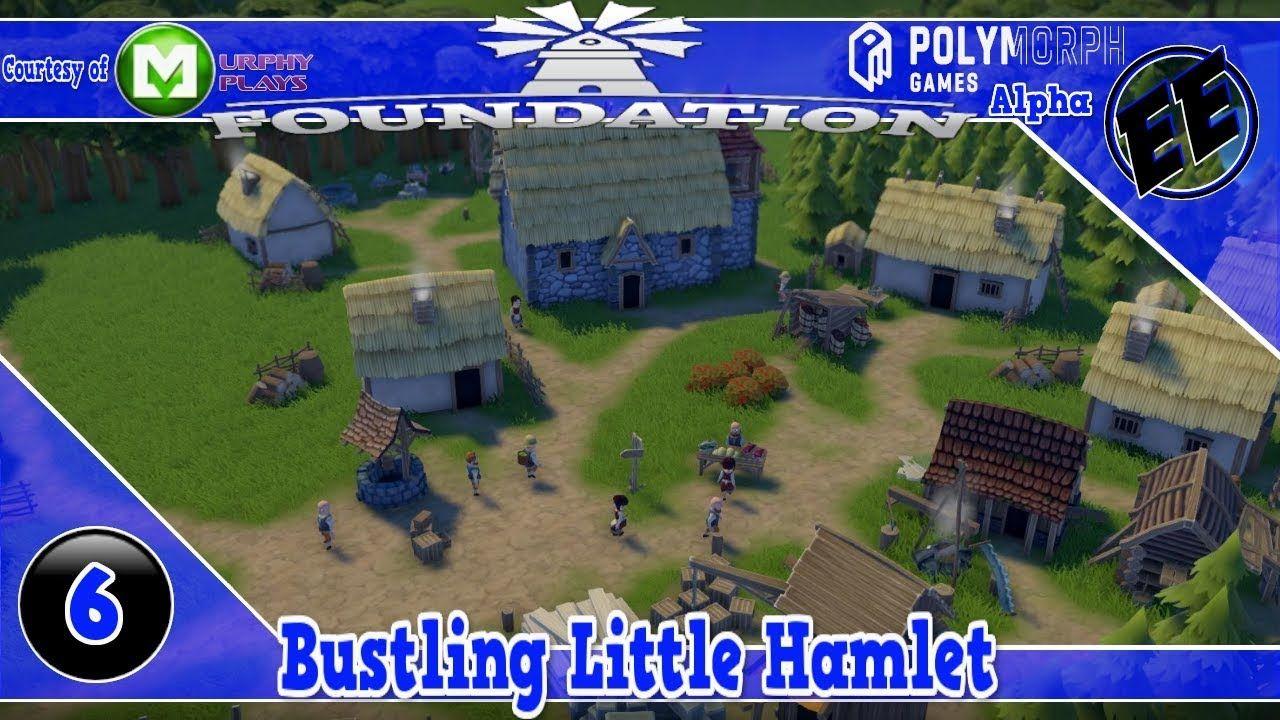 Foundation Alpha S1 Ep6 Wheat Sheep Farms Polymorph Games Foundationgame Foundation Https Youtu Be Qbjy45lb Sheep Farm Game Engine Simulation Games