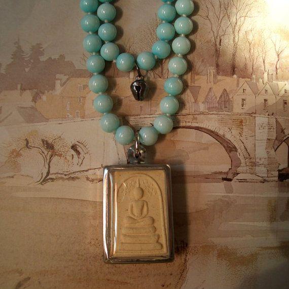 Buddha pendant buddhist amulet ivory clay prayer by spanishangels buddha pendant buddhist amulet ivory clay prayer by spanishangels 2850 mozeypictures Choice Image