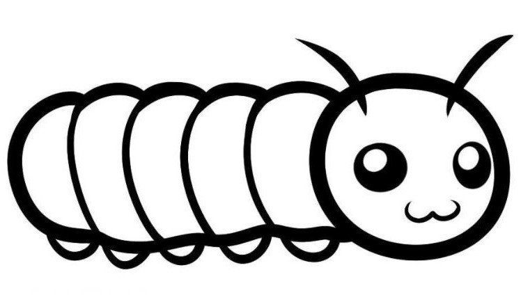 caterpillar coloring page printable | Colorings-lucy.com ...