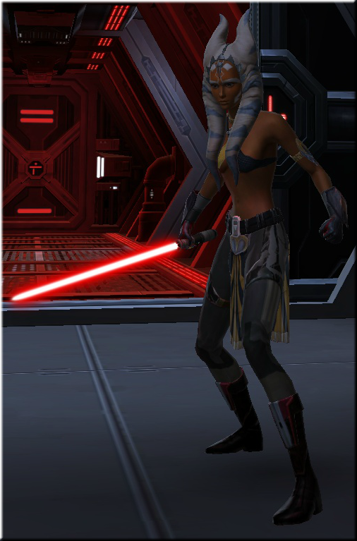 Complete Outfit of my Swtor Ahsoka Clone   SWTOR
