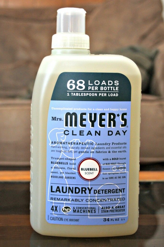 Mrs Meyer S Clean Day Bluebell Laundry Detergent Product Review