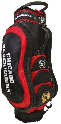 Nhl Chicago Blackhawks Medalist Cart Bag By Team Golf