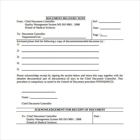 Sample Delivery Note Template  Sales Invoice Templates 27