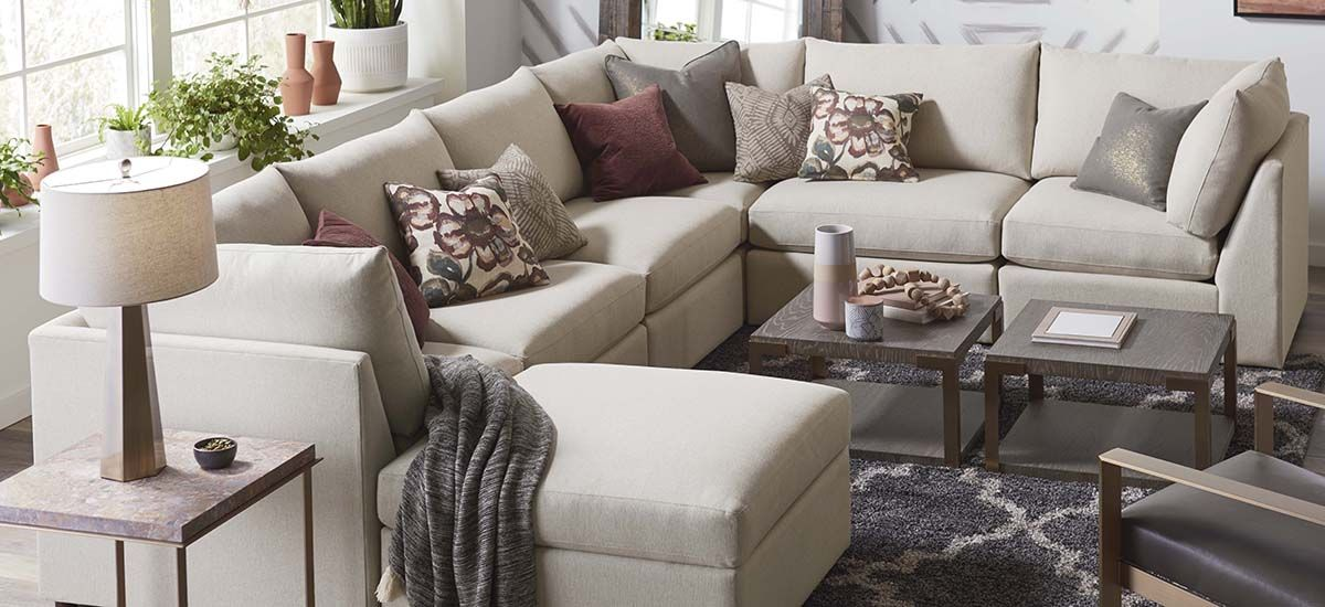 Beckham U Shaped Sectional Living Room Collections Couches