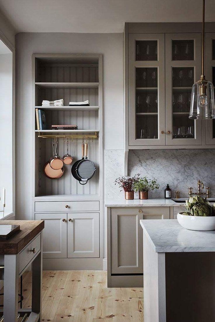 Cabinets  I N T E R I O R  Pinterest  Graue küchen Haus und