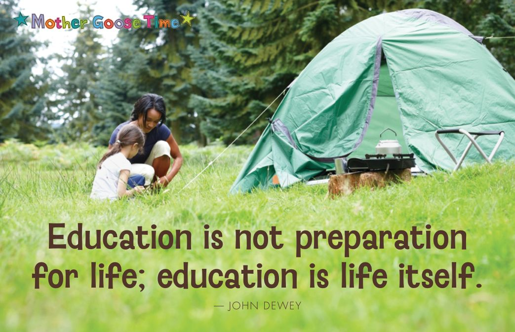 Education is not preparation for life; education is life itself. -John Dewey #PreschoolCurriculum
