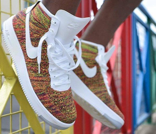 acheter pas cher 6ddd5 669b9 Nike Air Force 1 Ultra Flyknit 'Multicolor' | shoes ...