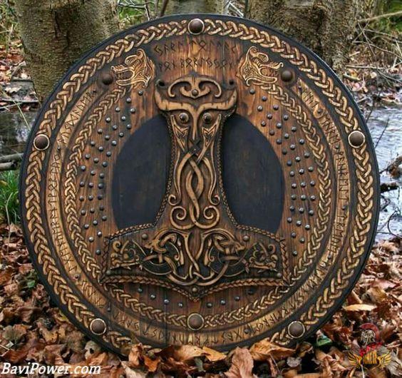 Viking Strength Symbols #vikingsymbols