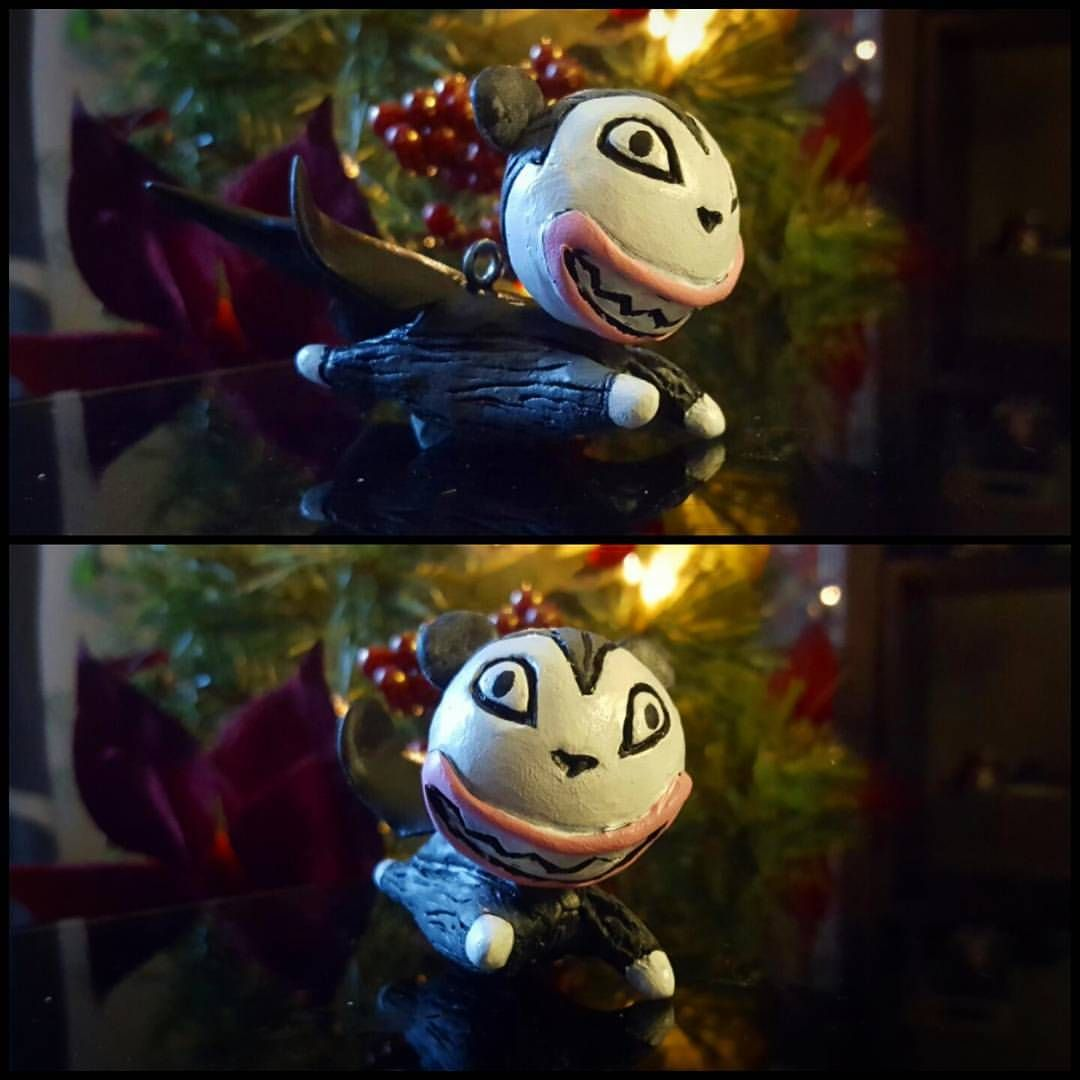 One-off Vampire Teddy Bear Christmas Ornament from Nightmare Before ...
