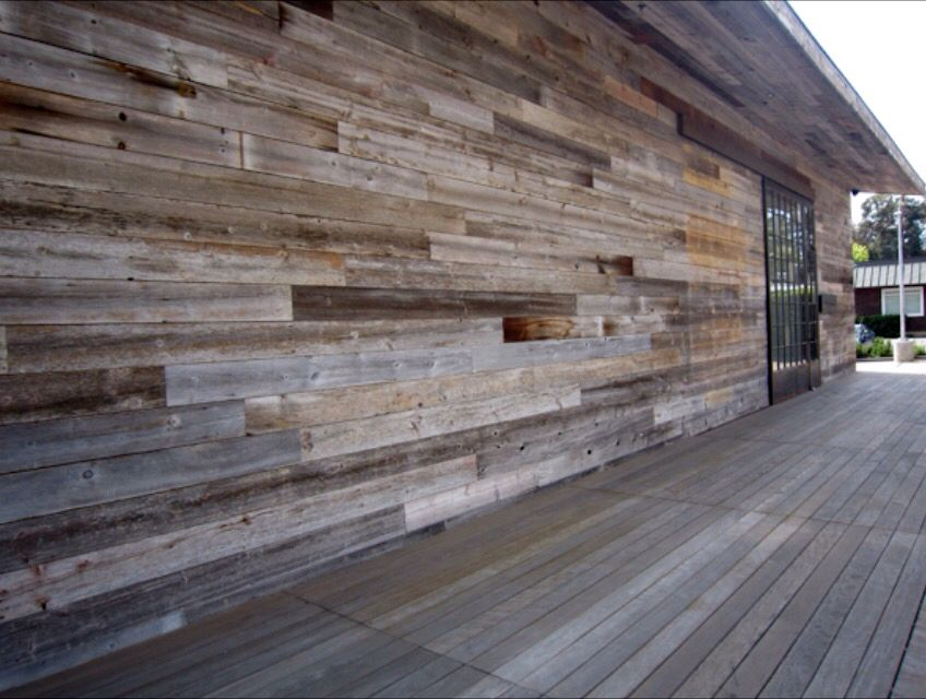 Weathered Reclaimed Wood Siding Barnwood Naturals Llc