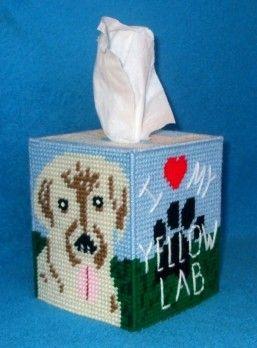 colorful plastic canvas tissue box covers - Google Search