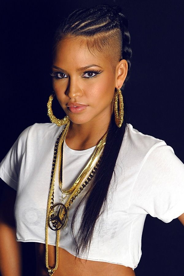 Cassie pulls off an undercut like no one else beauty pinterest cassie ventura urban chic this girl is gorgeous winobraniefo Choice Image
