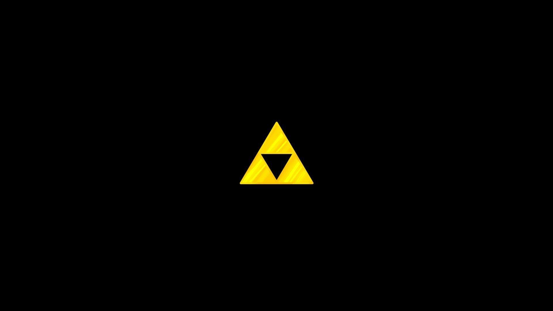 The Legend Of Zelda Black Background Simple Triforce Wallpaper Black Backgrounds Background Images Hd Legend Of Zelda