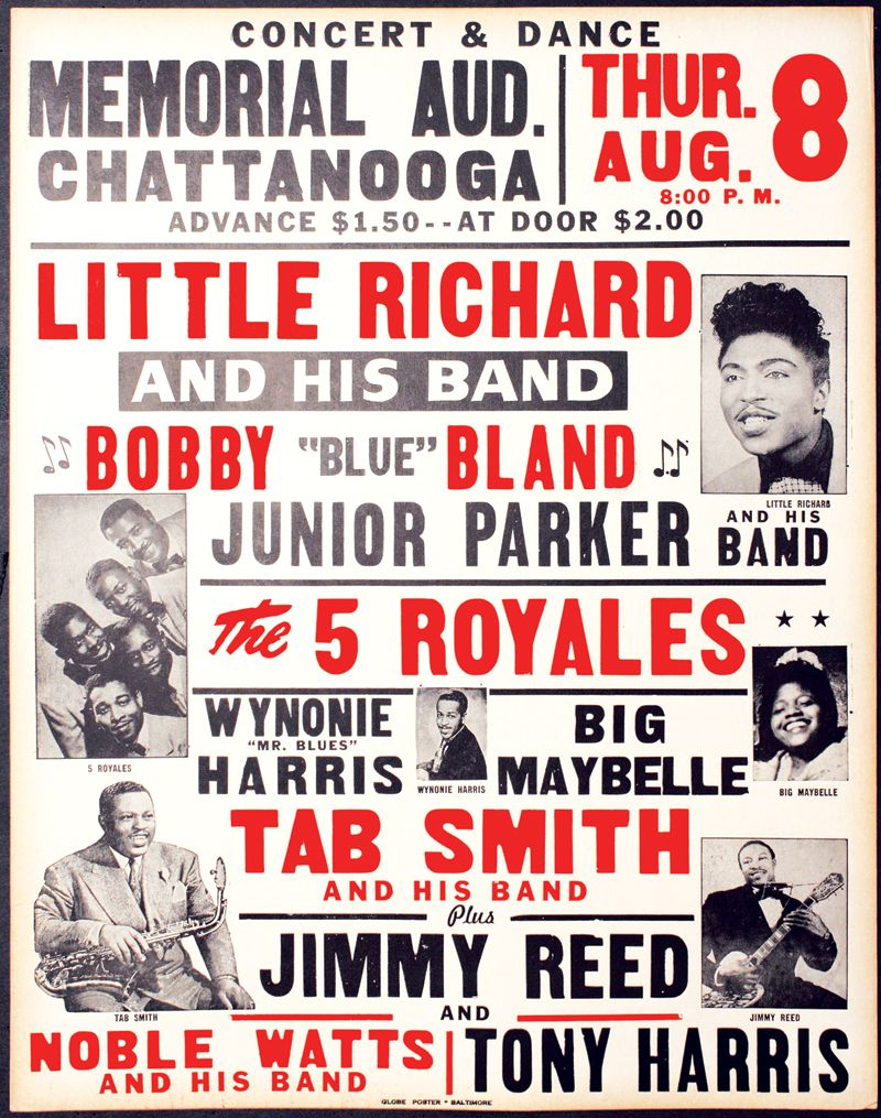 Vintage Blues Music Posters