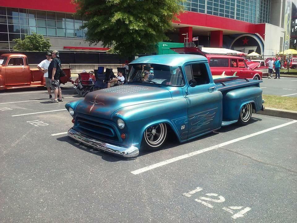 57 Chevrolet Truck We Saw At Goodguys Car Show In Nashville