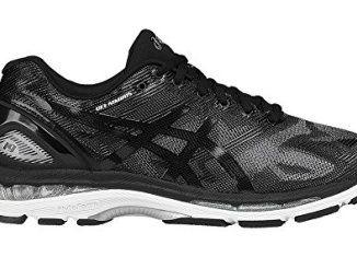 sports shoes 2c298 fef32 ASICS Men's Gel-Nimbus 19 Running-Shoes, Black/Onyx/Silver ...