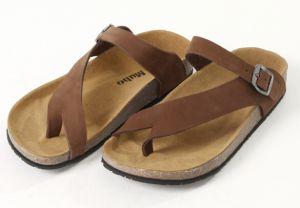 2015 nuevas sandalias del corcho del diseño