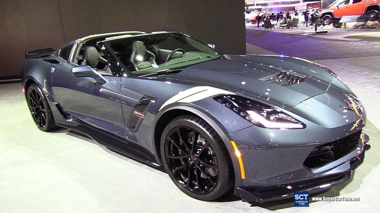 2019 Chevrolet Corvette Grand Sport Exterior and