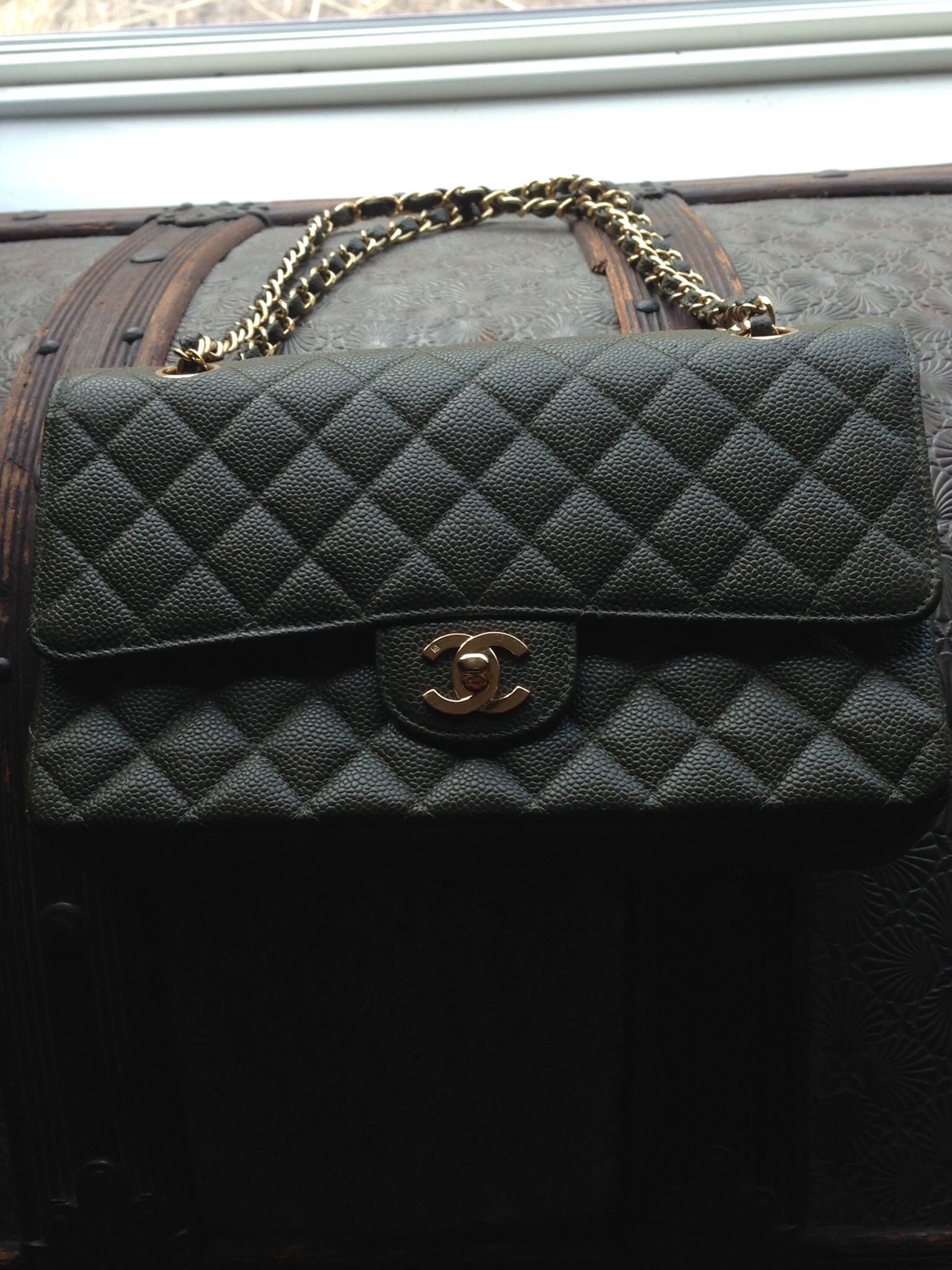 690e1fc46cb4 My Chanel bag, bought at Saks Fifth Avenue in Phoenix Arizona ...