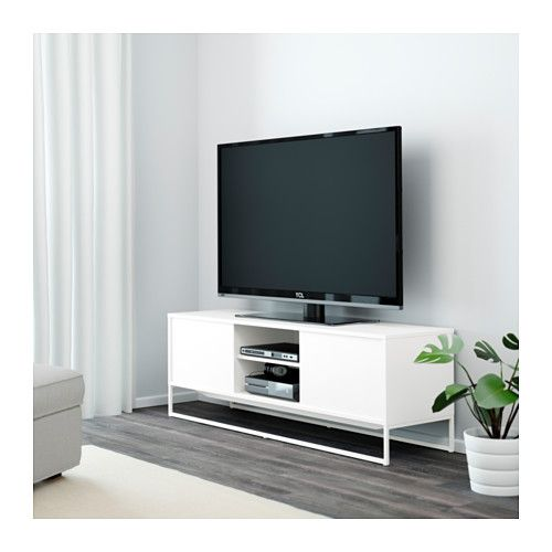 hagge banc tv blanc ikea tables pinterest banc tv blanc meuble t l et ikea. Black Bedroom Furniture Sets. Home Design Ideas