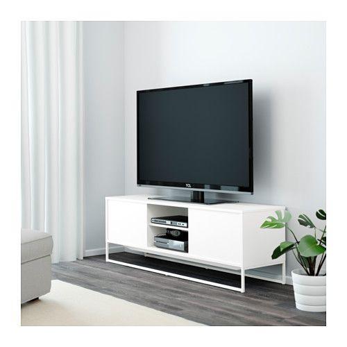 hagge tv b nk vit ikea hem i brunt pinterest tv. Black Bedroom Furniture Sets. Home Design Ideas