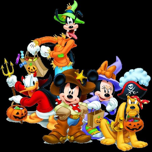 ディズニー ハロウィンのイラスト画像♡ミッキーやミニーが大