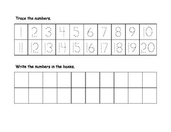 Worksheets Number Writing Worksheets 1-20 common worksheets writing numbers 1 20 printable number 20